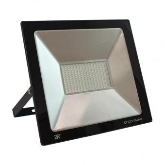 led метален прожектор, черен, deco, led 150w, 6000k, 15000lm, deco black