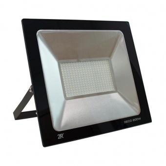 led метален прожектор, черен, deco, led 200w, 6000k, 20000lm, deco black