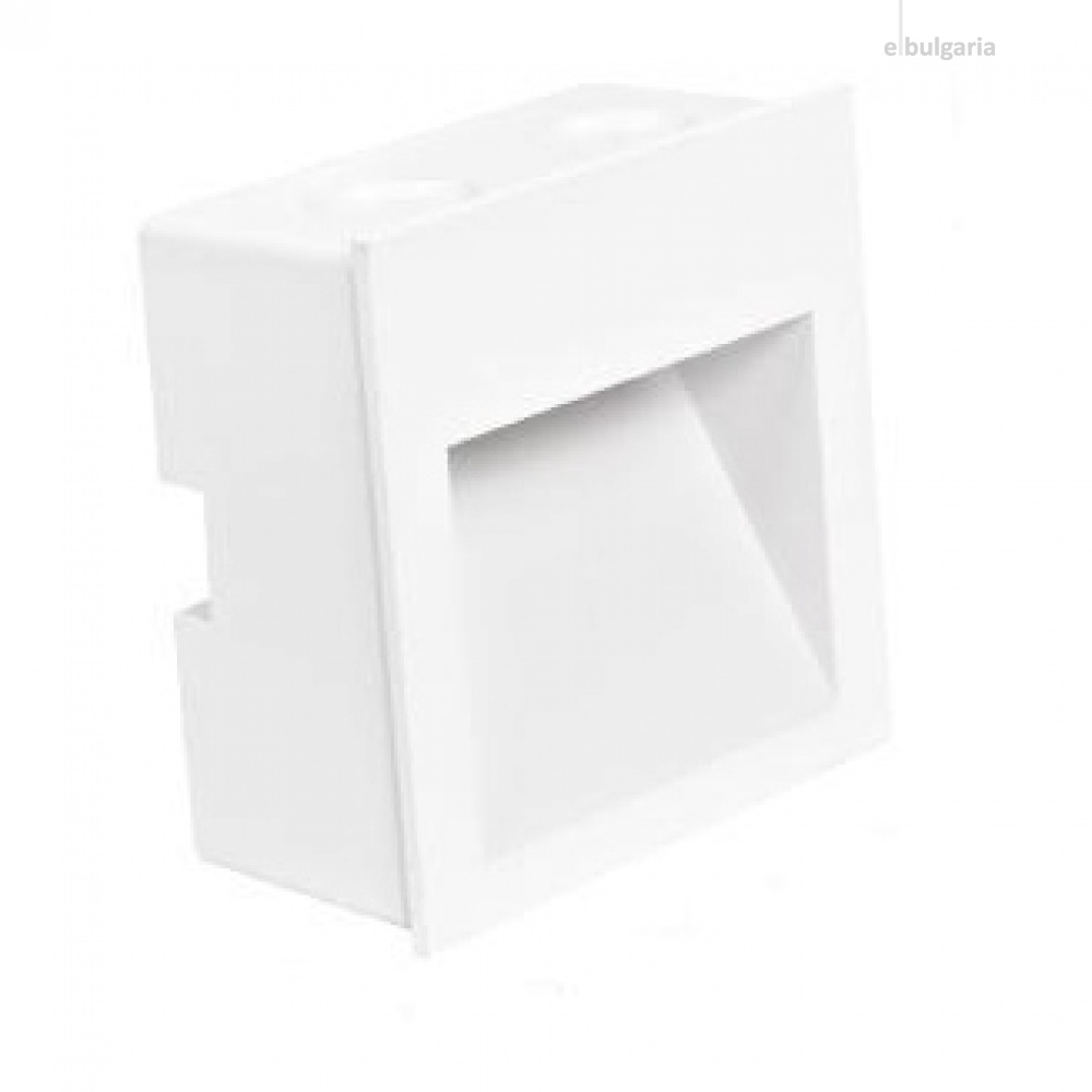 led метална луна, white, stair light, led 2w, 4000k, 160lm, ip20, stair light