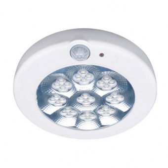 led pvc плафон, white, safe sense, led 11w, 6000k, 1100lm, led sensor lamp safe sense 1141