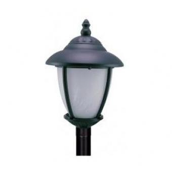 градински фенер стоящ, black, cs, 1х40w, cs 02 black