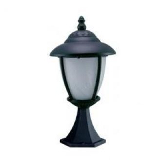 градински фенер стоящ, black, cs, 1х40w, cs 03 black