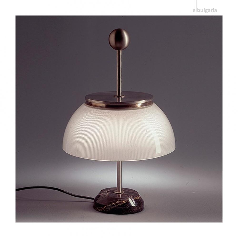 настолна лампа от мрамор, white, artemide, alfa, 1x30w, 0026010A