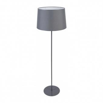 текстилен лампион, grey, tk lighting, maja, 1x60w, 2918