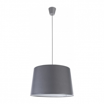 текстилен пендел, grey, tk lighting, maja, 1x60w, 1881