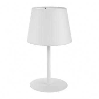 текстилна настолна лампа, white, tk lighting, maja, 1x60w, 2935