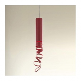 метален пендел, red, artemide, decompose light suspension, 1x8w, doi4600a16