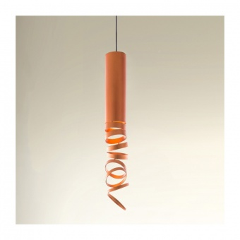 метален пендел, orange, artemide, decompose light suspension, 1x8w, doi4600a03