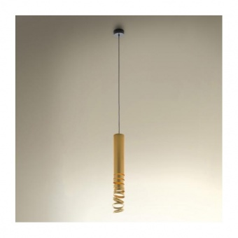 метален пендел, gold, artemide, decompose light suspension, 1x8w, doi4600a02