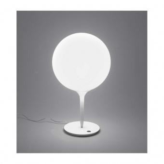 стъклена настолна лампа, white, artemide, castore table 35, 1x150w, 1049010a