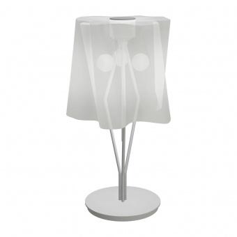 стъклена настолна лампа, silk gloss , artemide, logico mini table, 3x30w,  0700020a