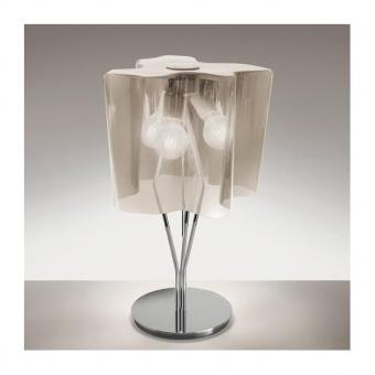 стъклена настолна лампа, fume , artemide, logico mini table, 3x30w,  0700110a