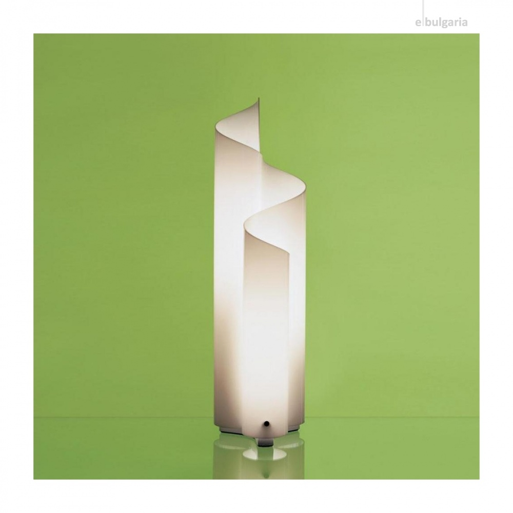 акрилна настолна лампа, white, artemide, mezzachimera, 3x46w, 0055010a