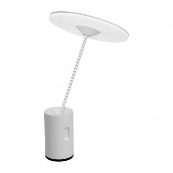 акрилна настолна лампа, white, artemide, sisifo, 1x14w, 1732020a