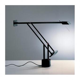 метална работна лампа, black, artemide, tizio led, 1x6.29w, 2700k, 657lm, a0092w10