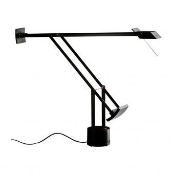 метална работна лампа, black, artemide, tizio led, 1x6.29w, 3000k, 657lm, a009210