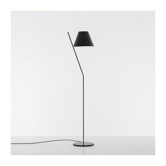 метален лампион, black, artemide, la petite floor, 1x12w, 1753030a