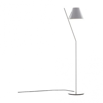 метален лампион, white, artemide, la petite floor, 1x12w, 1753020a