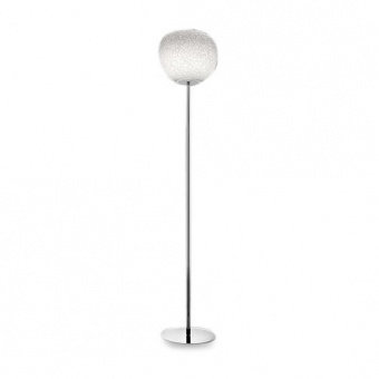 стъклен лампион, white, artemide, meteorite 35 floor, 1x150w, 1706010a