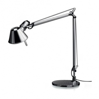 метална работна лампа, grey, artemide, tolomeo table, 1x77w, a001000