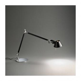 метална работна лампа, black, artemide, tolomeo mini table, 1x77w, a005940