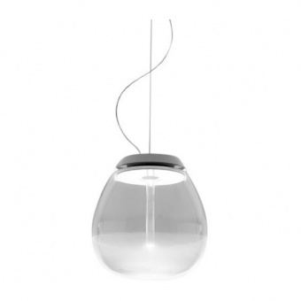 стъклен пендел, white, artemide, empatia 16 suspension, led 1x11w, 3000k, 1380lm, 1815010a