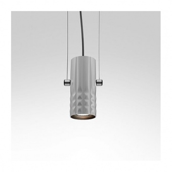 метален пендел, grey, artemide, fiamma suspension, 1x8w, 1985010a