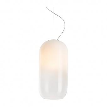 стъклен пендел, white, artemide, gople lamp rwb, led rgb 1x21w+1x39w, 2700k, 1100lm + 2250lm, 1407010a