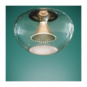 стъклен пендел,  transparent, artemide, ipno glass, 1x30w, 3000k, 1658lm, 1845010a