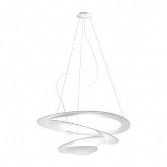 pvc пендел, trasparent, artemide, pirce mini suspension, led 1x44w, 3000k, 4230lm, 1256110a