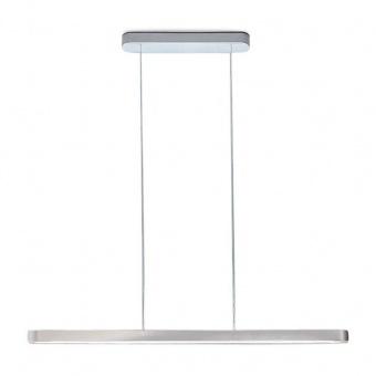 метален пендел, silver, artemide, talo sospensione, led 1x6w, 3000k, 914lm, 1922020a