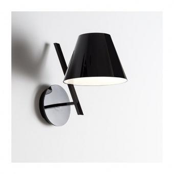 метален аплик, black, artemide, la petite wall, 1x6w, 1752030a
