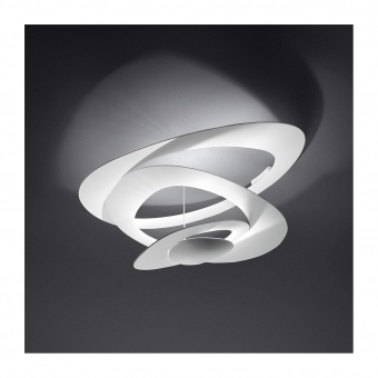 метален плафон, white, artemide, pirce ceiling, led 1x44w, 3000k, 4230lm, 1253110a