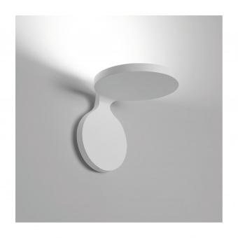 метален аплик, white, artemide, rea, led 1x9w, 3000k, 790lm, 1614010a