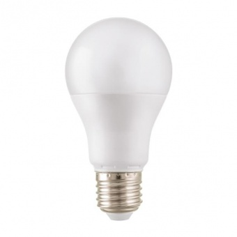 led лампа 10w, e27, студена светлина, 6500k, 850lm, cap globe a60, 18877