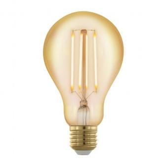 led лампа 4w, е27, топла светлина, eglo, golden age, 1700k, 320lm, 11691