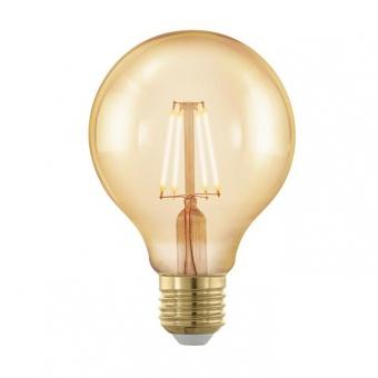 led лампа 4w, е27, топла светлина, eglo, golden age, 1700k, 320lm, 11692