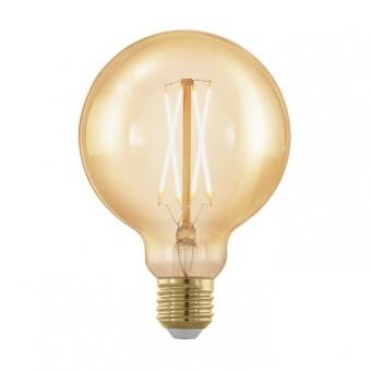 led лампа 4w, е27, топла светлина, eglo, golden age, 1700k, 320lm, 11693