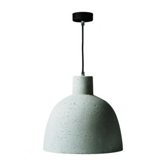 гипсов пендел, grey, kanlux, ogiva, 1x40w, 27001