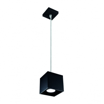 метален пендел, black, kanlux, algo, 1x40w, 27036