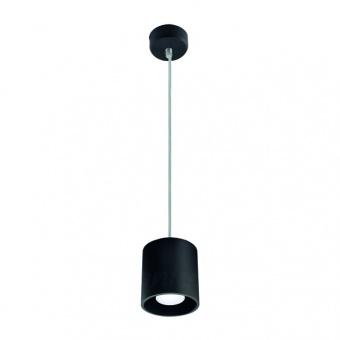 метален пендел, black, kanlux, algo, 1x40w, 27039