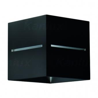 метален аплик, black, kanlux, asil, 1x40w, 27020