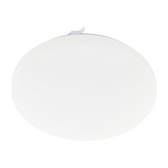 pvc плафон, white, eglo, frania, led 17,3w, 3000k, 2000lm, 97884