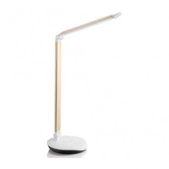 метална работна лампа, gold, philips, lever, led 1x5w, 4000k, 400lm, 72007/92/16