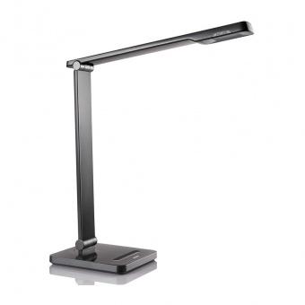 метална работна лампа, black, philips, caliper, led 1x6w, 4000k, 600lm, 71666/30/16