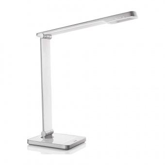 метална работна лампа, white, philips, caliper, led 1x6w, 4000k, 600lm, 71666/31/16