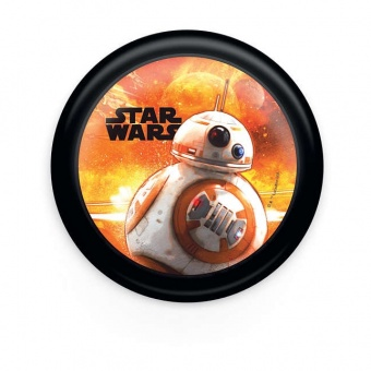 pvc аплик, mixed, star wars, philips, led 1x0.3w, 5lm, 71924/99/p0