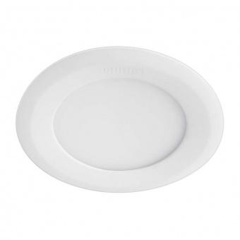 led панел за вграждане, white, philips, marcasite, led 1x9w, 3000k, 860lm, 59521/31/p1