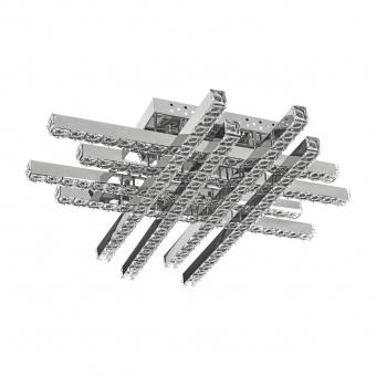 кристален плафон, хром, elbulgaria, led 88w, 2700-4000-6000k, 1873/8 ch