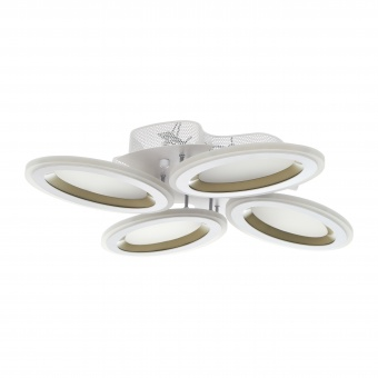 метален плафон, бял, elbulgaria, led 76w, 3000-4000-6000k, 1700/4
